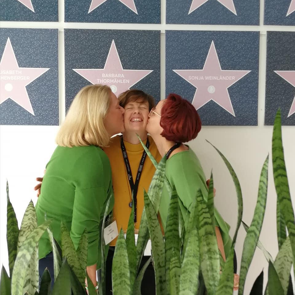 Birgit Michaela und Clara bei RINGANA im Frischewerk